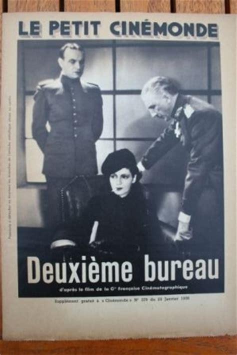 deuxieme bureau 1936 jean murat vera korene jean max larquey
