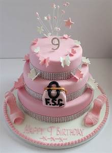 Girls birthday cakes for 9 year old