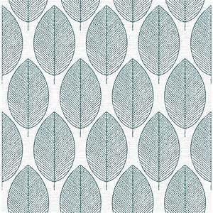 Graham & Brown Fresco Retro Leaf Wallpaper