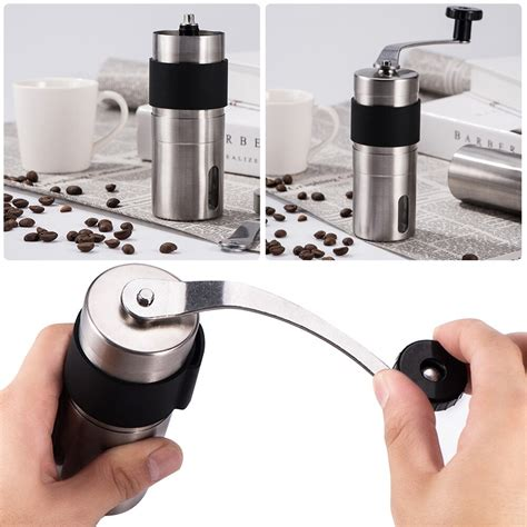 Having that in mind, we have compiled the best coffee makers with grinder available in the market today. Manual Coffee Grinder Stainless Steel Hand Grinder Bean Miller Coffee Bean Grinding Machine for ...