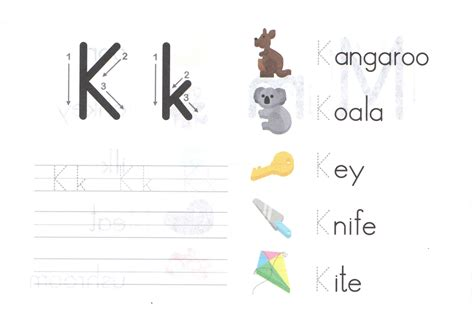 Small Letter K Tracing Worksheets  Tracing Lowercase Alphabet Worksheets Letter Handwriting