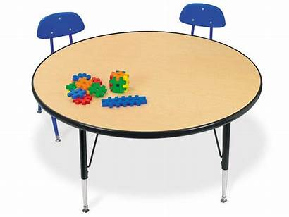 Table Round Tables Clipart Clip Classroom Cliparts