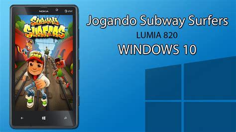 jogando subway surfers no windows 10 youtube