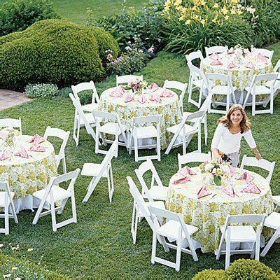 inspiration   romanitic outdoor bridal shower party