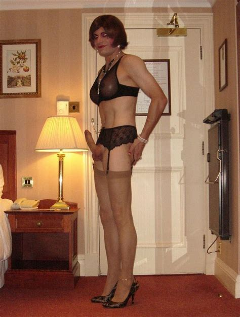 Hot Crossdresser Wears False Tits And Displays Her Fully