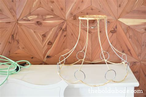 how to make your own color cord light fixture