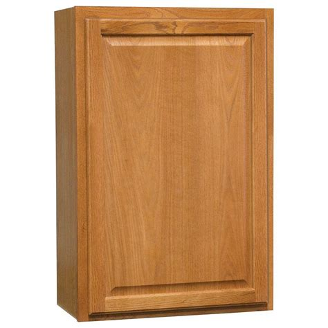medium oak kitchen cabinets hton bay hton assembled 24x36x12 in wall kitchen 7422