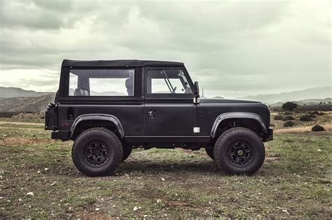 custom land rover icon land rover defender d90 ls3 v8 silodrome