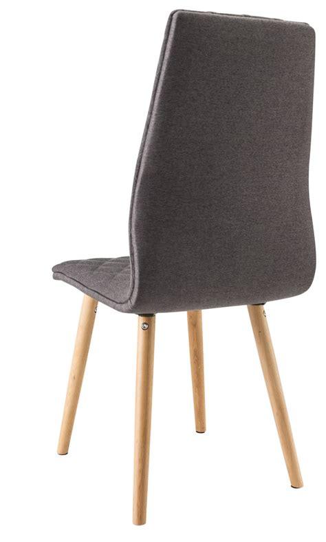 tissu pour chaise chaise salle a manger bois et tissu bricolage maison et