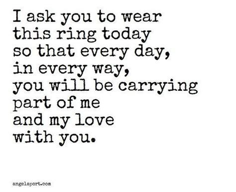 wedding quotes i ask you to wear this ring today quotes loveimgs
