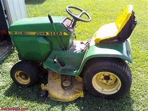 Tractordata Com John Deere 214 Tractor Photos Information
