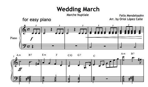 Wedding March (mendelssohn) Sheet Music (.pdf
