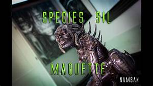 Species Sil Design By H R Giger - Sideshow Maquette