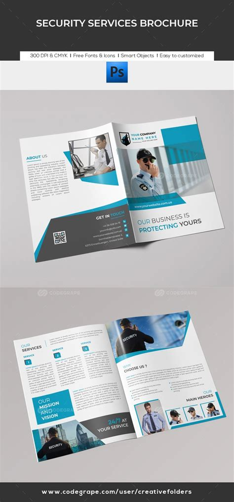 security services brochure print codegrape