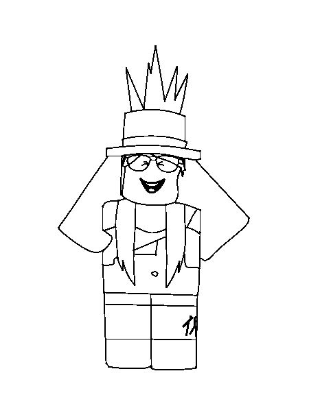 Kleurplaat Roblox Noob by Gorgeous Ideas Coloring Pages Roblox Page