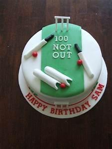 100Th Birthday Cricket Cake - CakeCentral com