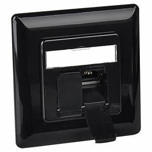 Netzwerkdose Cat 6a : netzwerkdose 2xrj45 unterputz schwarz ~ Eleganceandgraceweddings.com Haus und Dekorationen