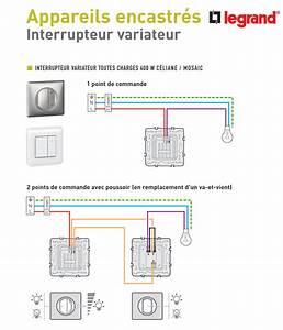 Variateur De Lumiere Legrand : schema variateur de lumiere legrand ~ Dailycaller-alerts.com Idées de Décoration
