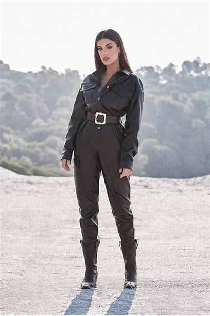 Leather Jumpsuit Dulceida Obsesion