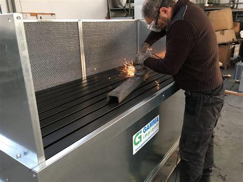 banchi aspiranti banco aspirante con filtri e ventilatore gamma impianti