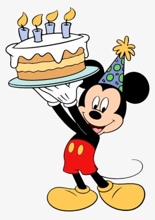 mickey mouse birthday png  transparent mickey
