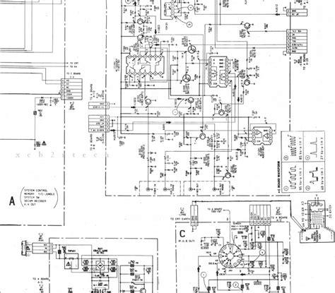 xcb2rtech sony kv 2584mt diagram