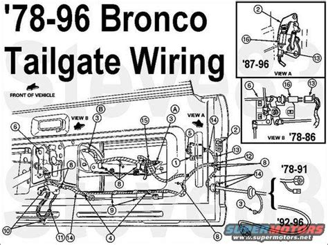 Ford Bronco Tailgate Tech Picture Supermotors