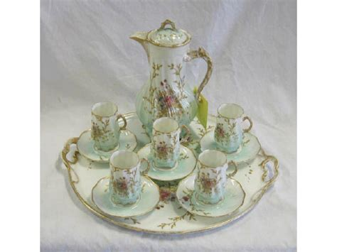 Limoges Coffee Service For One