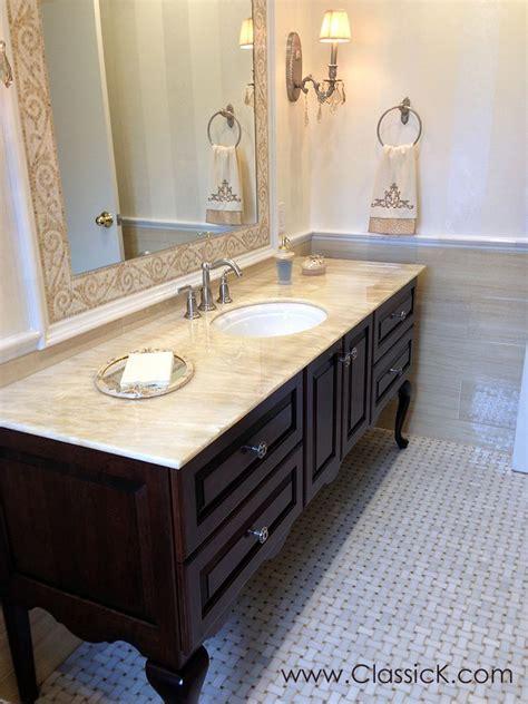 Free Standing Bathroom Vanity Ideas by Bathroom Vanities Fitted Vs Free Standing Bathroom
