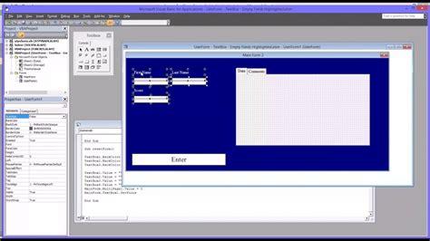 userform gantt chart excel template
