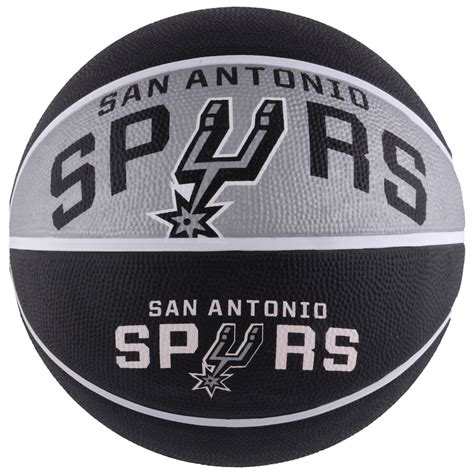 san antonio spurs spalding courtside team basketball