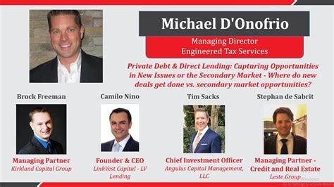 Real Estate, Direct Lending & Private Debt Forum Part IV ...