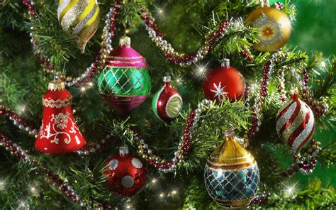 gorgeous christmas tree ornaments hd wallpapers 15