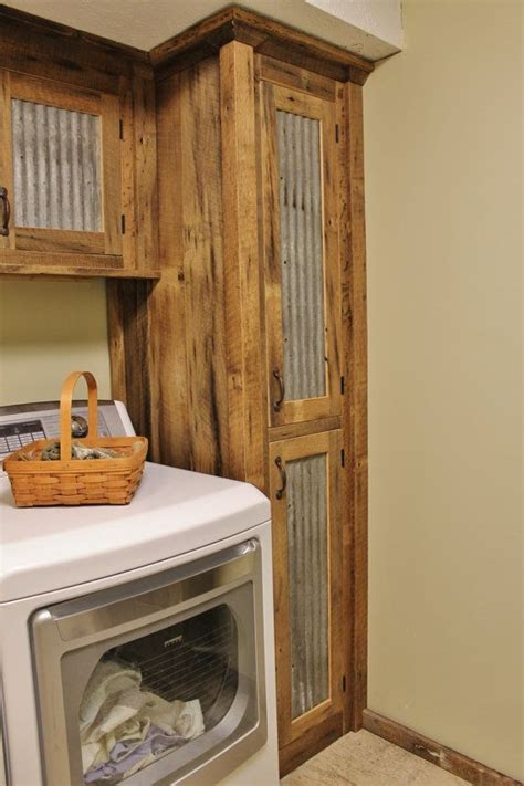 taking doors kitchen cabinets rustic storage reclaimed barn wood cabinet w tin 8425