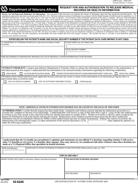 generic authorization medical release form