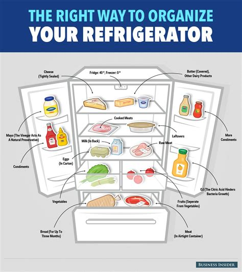 How To Organize Your Fridge Business Insider