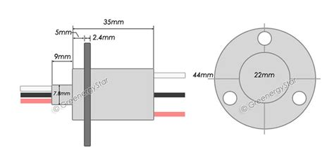 Amps Circuit Slip Ring For Phase