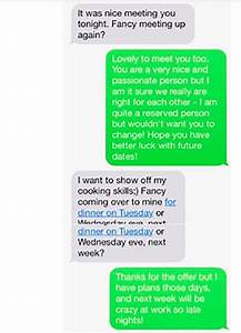 Girl Posts Cringeworthy Post-Date Text With the 'Worst ...