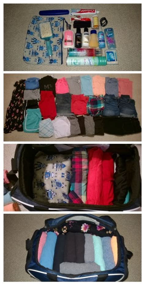 Packing Tips Over Packing For A Week In A Small Duffel