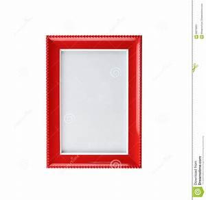Cadre De Tableau : cadre de tableau rouge moderne d 39 isolement photo stock ~ Dode.kayakingforconservation.com Idées de Décoration