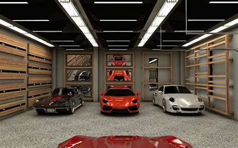 private showroom garage residential project actdesign by