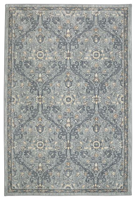 karastan euphoria galway willow rug gray