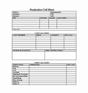 Telephone Log Sheet Template Call Sheet Template 25 Free Word Pdf Documents