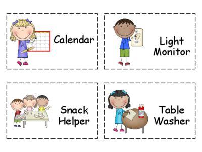how to get a job at a preschool helper chart clipart 82 133