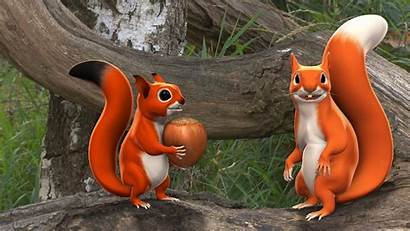 Squirrel Animated Pip Animation 3d Series Rotation