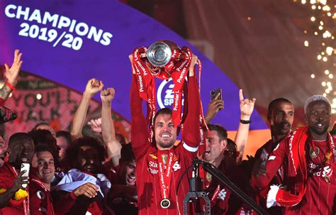 Photo gallery: Liverpool lift the Premier League trophy at ...