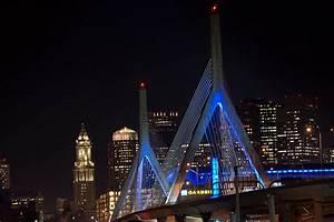 The Leonard P  Zakim Bunker Hill Bridge Boston