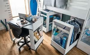 Etagenbett Abc : Schreibtisch für hochbett. f r hochbett multi nevis qmm