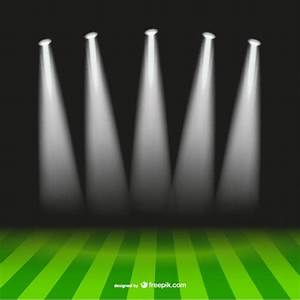 Soccer spotlight stadium vector free download