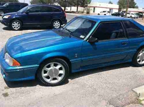 used ford mustang cobra for find used ford mustang cobra in el paso united